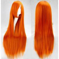 Парик рыжий длинный, парик длинные волосы рыжие, парик 100 см