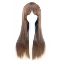 Парик русый с челкой, парик длинные волосы