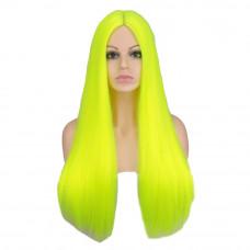 Купить Парик яркий неоновый, парик длинные волосы прямые