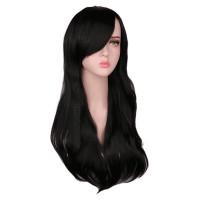 Парик черный, парик длинные волосы, парик брюнетка