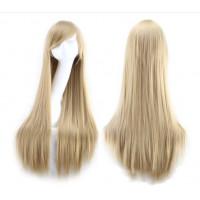 Парик пшеничный блонд, парик блондинки прямые волосы