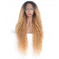 Парик длинный волнистый парик омбре, парик на сетке