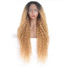 Купить Парик длинный волнистый парик омбре, парик на сетке
