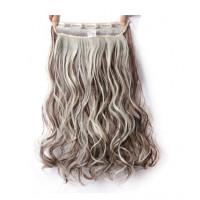 Волосы на заколках мелирование трессы накладные волосы