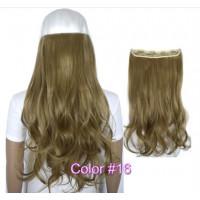 Волосы на заколках светло русые трессы накладные волосы