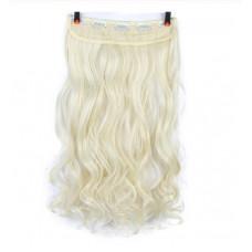 Купить Волосы на заколках блонд трессы накладные волосы