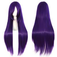 Парик фиолетовый длинный
