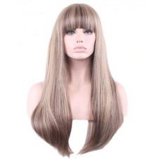 Купить Парик с челкой прямые волосы