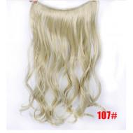Трессы пшеничный блонд волнистые волосы канекалон