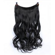 Трессы черные волнистые волосы канекалон