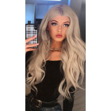 Купить Парик блондинка волнистые волосы коллорирование