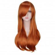 Парик рыжий длинные волосы 70 см