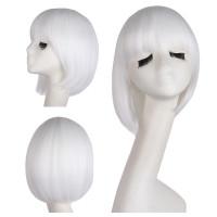 Парик белый, Парик каре, парик женский