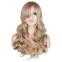 Парик блондинки волнистые, парик длинные волосы, парик пшеничный, парик волнистый