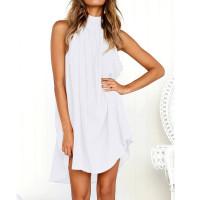 Платье летнее белое пляжное, туника пляжная