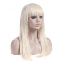 Парик блондинка с челкой