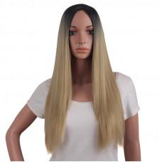 Купить Парик омбре длинные ровные волосы