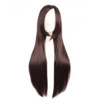 Парик  темно-коричневый длинные волосы