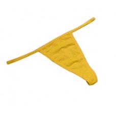 Купить Стринги мини желтые