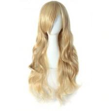 Купить Парик темный блонд волнистые