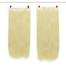 Купить Волосы на заколках прямые блонд трессы