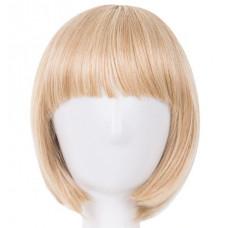 Купить Парик каре натуральный блонд колорирование