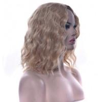 Парик волнистое каре без челки блондинка