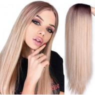 Парик омбре, парик длинные волосы, парик без челки, парик блондинки