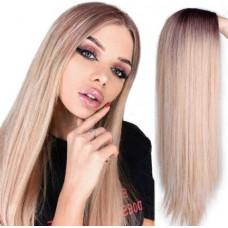 Купить Парик омбре, парик длинные волосы, парик без челки, парик блондинки