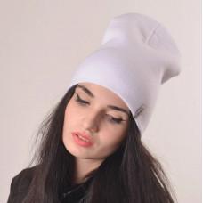 Купить Шапка чулок белая, шапка белая, шапка бини белая