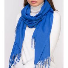 Купить Шарф женский синий однотонный палантин