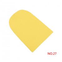 Шапка бини желтая